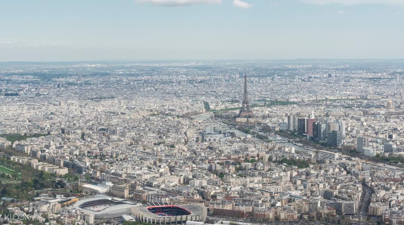 helicopter tour paris